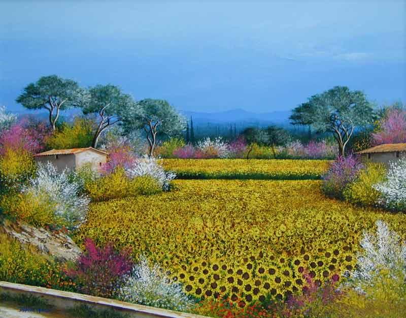 Tableaux De Provence Franck Carron L Artiste