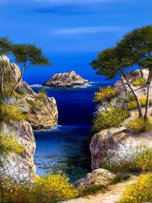 Fabuleux Tableaux de Provence - Franck Carron, l'artiste impressionniste du  NU63